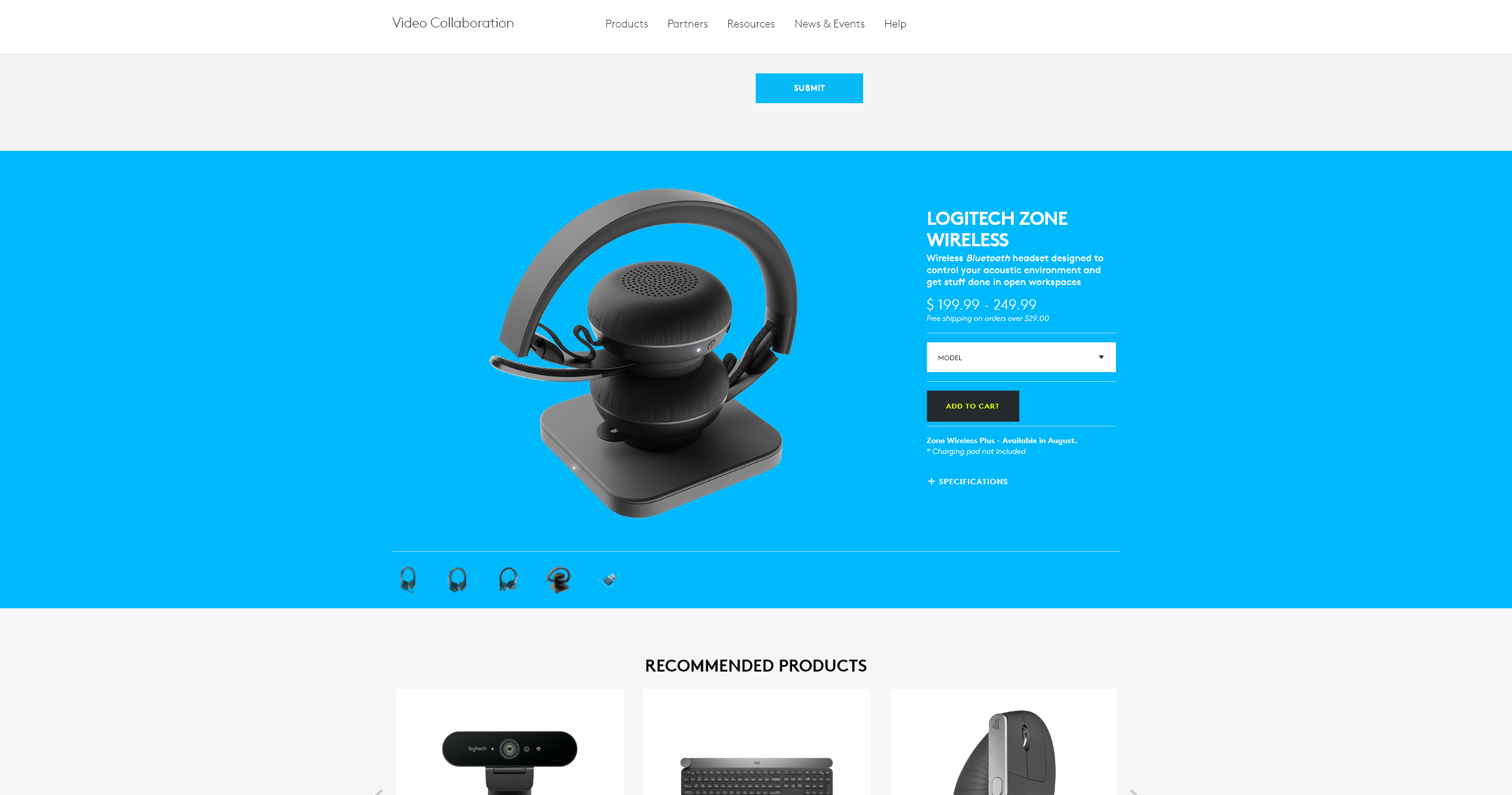 Logitech Zone Wireless Esben Oxholm Freelance Cg Artist Product Images And Animations